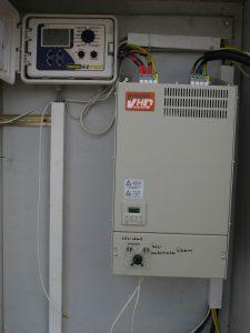 Öntözőtelep korszerű vezérlése frekvenciaváltóval (forrás:www.aquarex.hu)