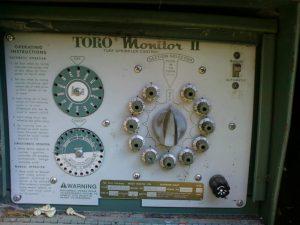 Toro öntözés vezérlő 1995? (forrás: www.kertamiszep.hu)