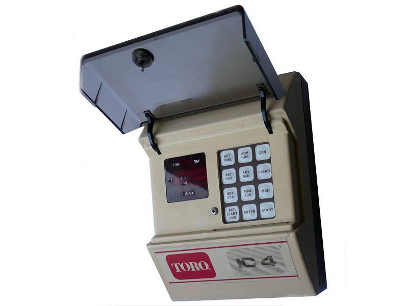 Toro IC-4 öntözés vezérlő automatika, az 1990-es évekből (forrás: www.summatrade.hu)